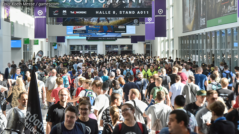 Gamescom 2018 - Conwalk